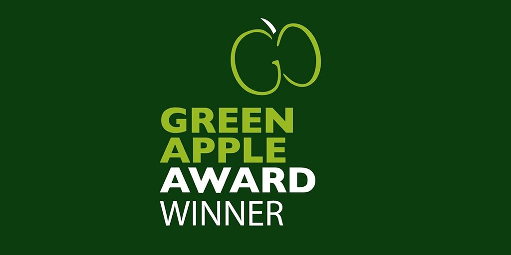 EUROTEC ENVIRONMENTAL WINS GREEN APPLE  ENVIRONMENT AWARD